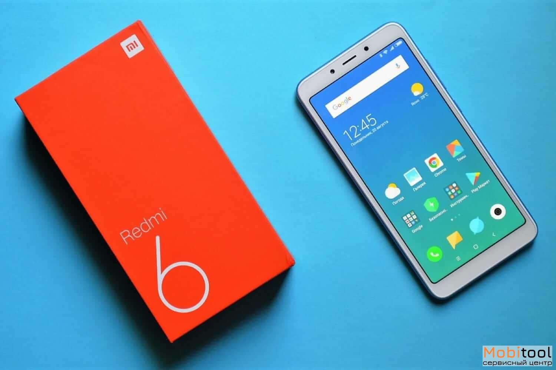 Замена стекла Xiaomi Redmi 6 Киев