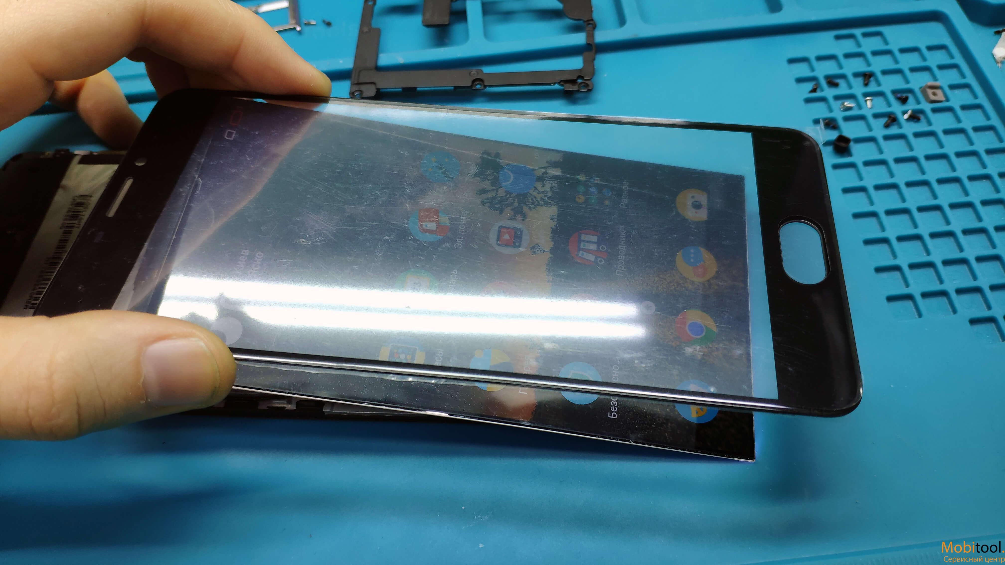 Замена сенсора Meizu M5 Note в Киеве